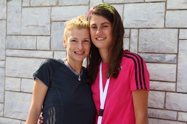 #ladiesrungreece Maria Papidaki and Irène Mamfredos.