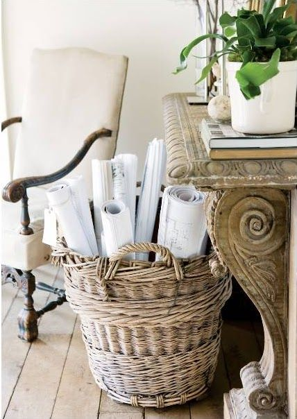 1000 Images About Reusing Baskets On Pinterest Entry