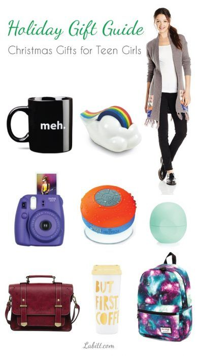 Best Ever Christmas Gift Ideas for Teenage Girls. Holiday gift guide. Teen gifts.