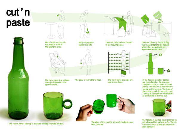 Bottiglie di vetro? Ecco 30 idee di riciclaggio creativo!