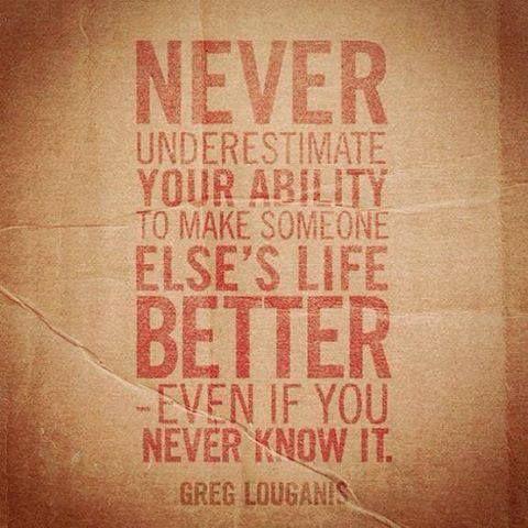 - never underestimate -   Volunteer quotes, Work quotes ...