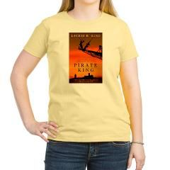Pirate King Cover Women's Light T-Shirt> Pirate King Cover> Laurie R. King Online Store