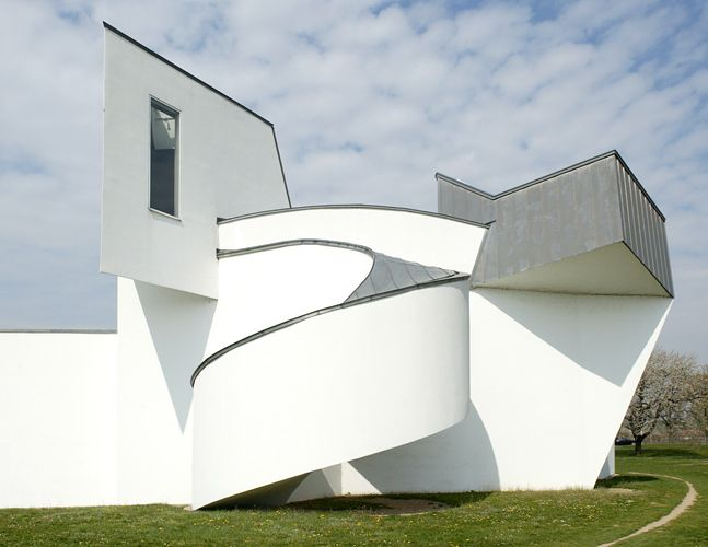 Vitra Design Museum, Frank Gehry. Germany.