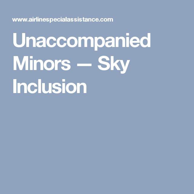 Unaccompanied Minors — Sky Inclusion