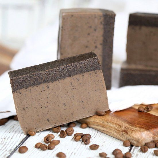 how to make coffee melt and pour soap