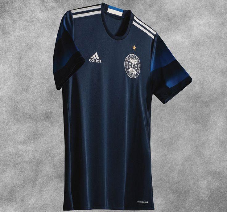 Terceira camisa azul do Coritiba 2016-2017 Adidas kit