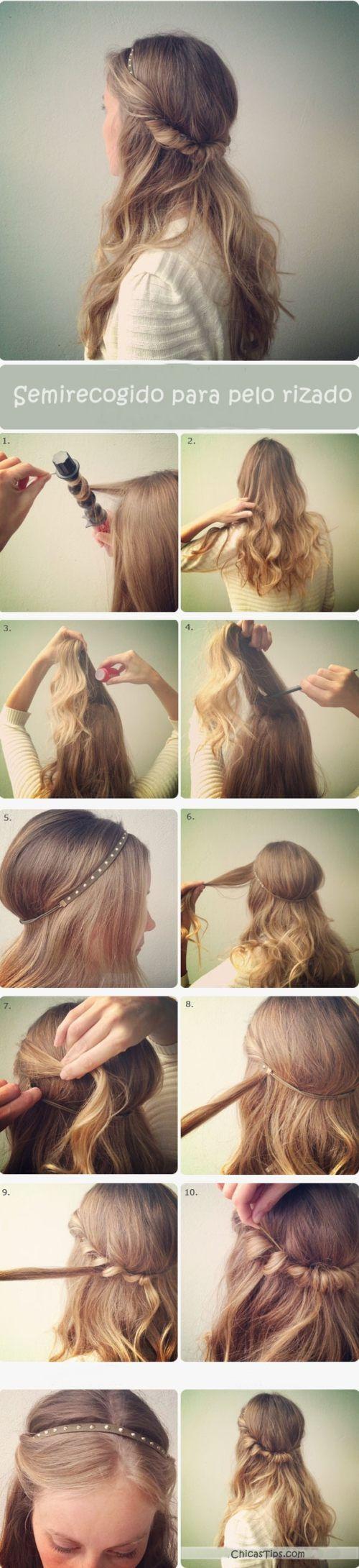 Porque ustedes lo pidieron, hoy les traemos varios peinados para chicas con cabello rizado, además les mostramos paso a paso cómo se hacen para que luzcan maravillosas en poco tiempo.