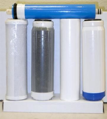 Reverse Osmosis and Deionization 77658: 5 Stage Replacement Filters Membrane For Aquarium Reverse Osmosis Water System BUY IT NOW ONLY: $51.98