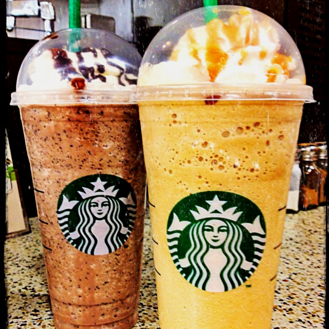 Venti Frappeccinos:) can't beat em'...