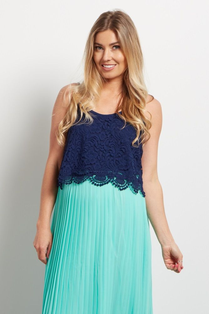 Your favorite trend of the season now comes in gorgeous lace. This lace maternity crop top will give you a feminine look you can wear with your favorite high waisted skirts for a beautiful ensemble. Complete the look with your favorite accessories for a romantic look from everyday casual or date night.