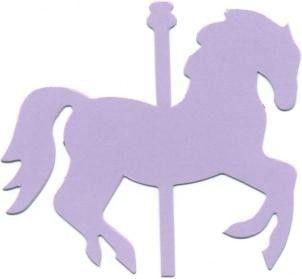 Carousel Horse Cutout