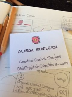 Business Card Design for a Craft Micro-business