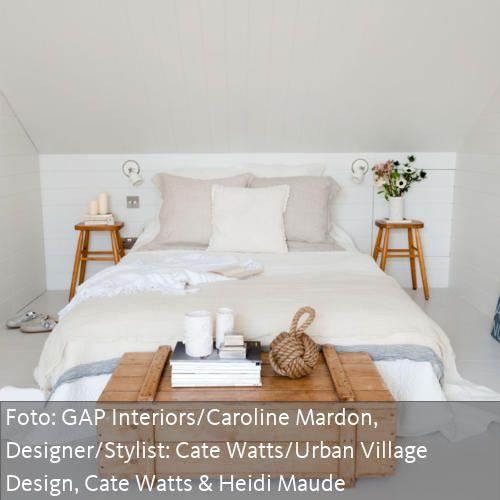 Holztruhe Schlafzimmer