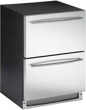 "24"" Under Counter Refrigerator / Freezer / Ice Maker 2 Drawer Unit"