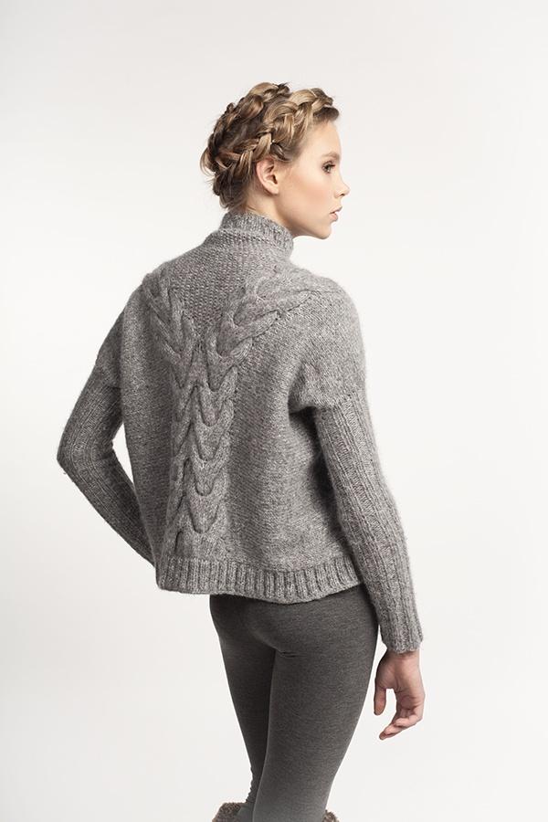 SALANIDA hand-knitted Volume Jumper