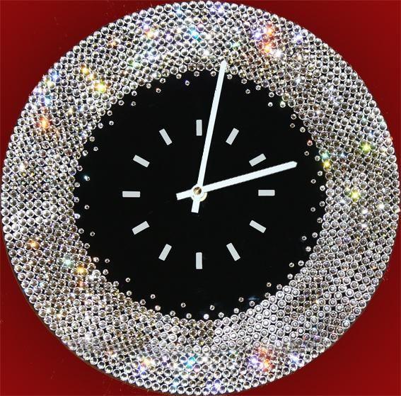 Часы с кристаллами Сваровски Ожерелье (нажмите, что бы увеличить фото)