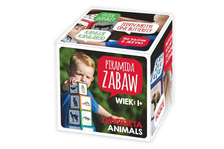 Kartonowe klocki dla dzieci   Piramida Zabaw