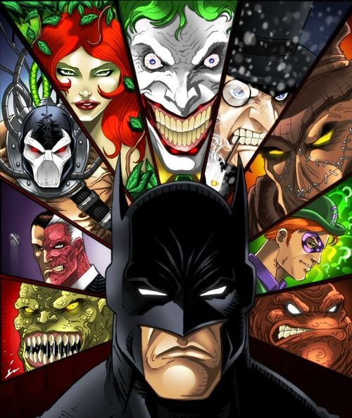 Arkham BreakoutComics Art, Art For, Batman Villains, Cartoons Rules, Batman Jokers, Dc Comics, Dark Knight, Arkham Breakouts, Batman Rules