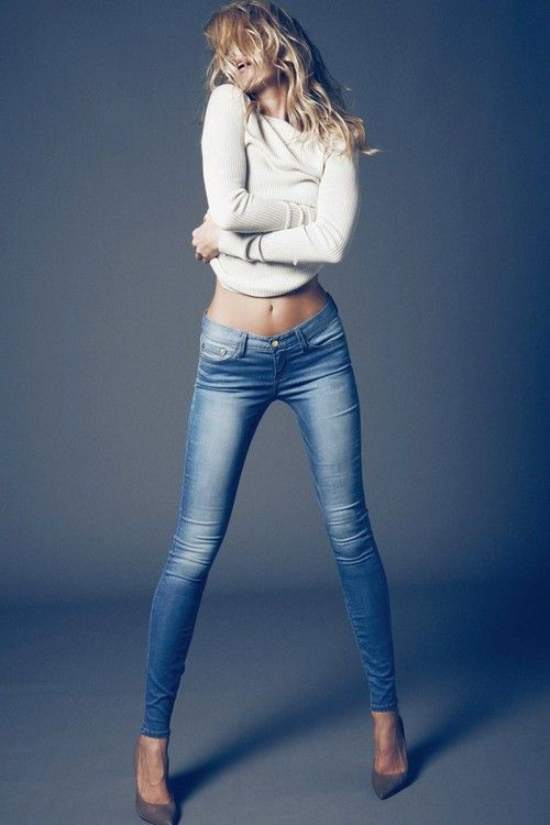 Nice Tall sexy jeans for women