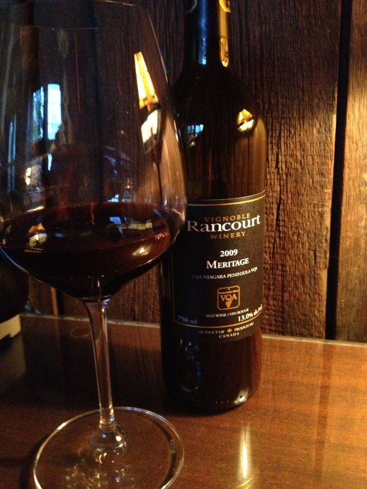 2009 Meritage, Rancourt Winery, NOTL http://tonightswine.com/2009-meritage-rancourt-winery-notl/
