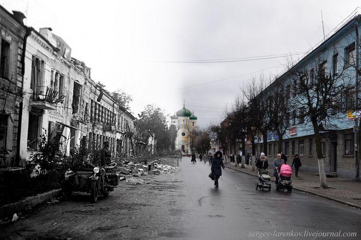 Dim old street