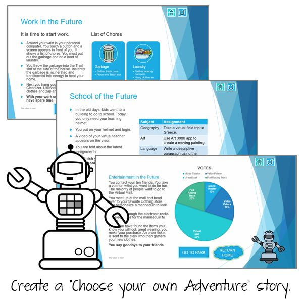 TechnoFuture - Write a Futuristic Story