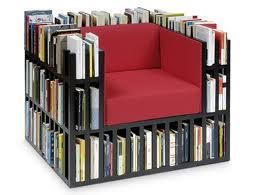 What a cool idea huh.......  I found 'Awesome Book Chair' on Wish, check it out!