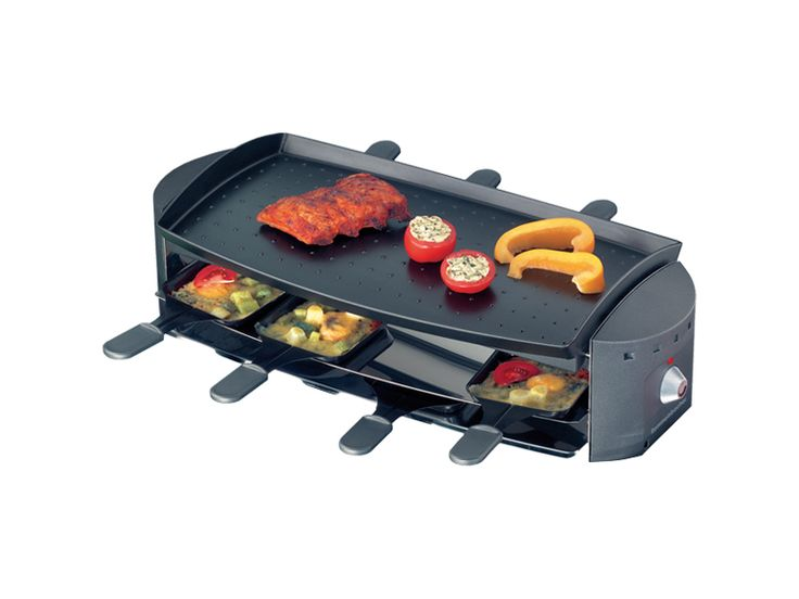 Raclette von Rommelsbacher. Great design and fun for 2 people. Love it.