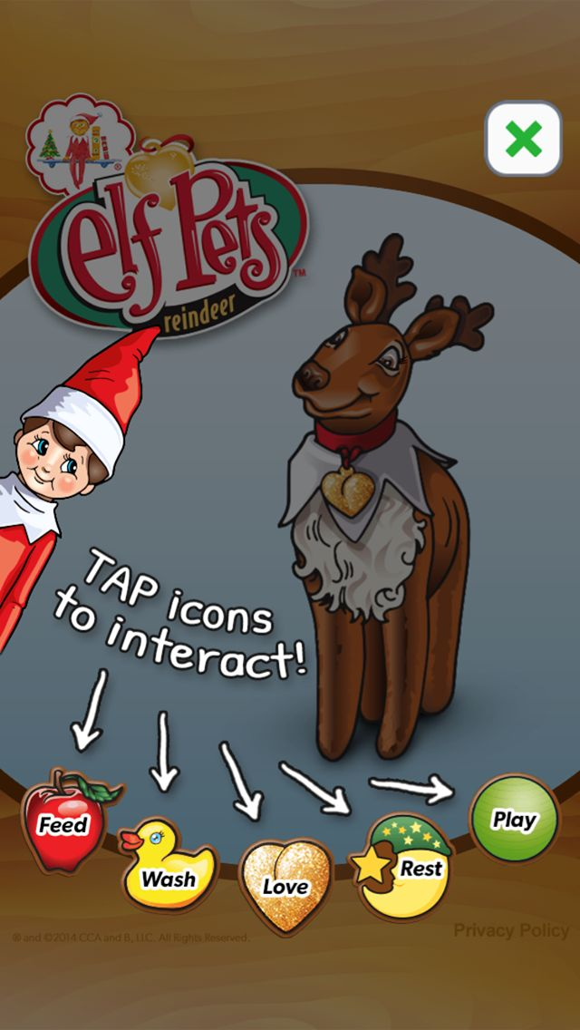 NEW! Elf Pets Reindeer mobile app | An official The Elf on the Shelf App | Available now on iTunes! | Children's Apps | Children's Games