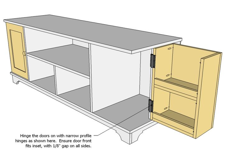 Dvd Cabinet Plans Free Woodworking Projects Plans