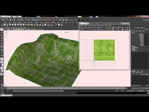 Multi Texture and UV Relationship Editor (MAYA) - YouTube