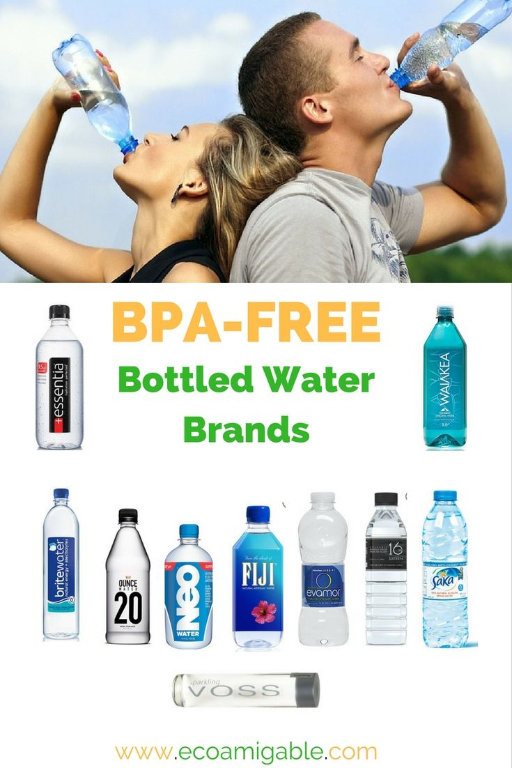 List of BPA free bottled water brands. Find out more at http://www.ecoamigable.com/bpa-free-bottled-water/