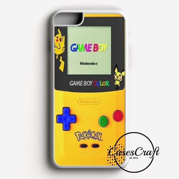 Yellow Gameboy Pokemon iPhone 7 Plus Case | casescraft