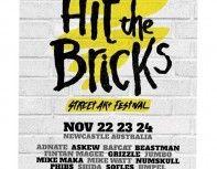 Hit the Bricks - Street Art Festival Poster