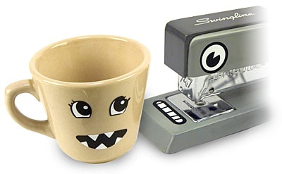 ThinkGeek :: Inanimate Character Stickers