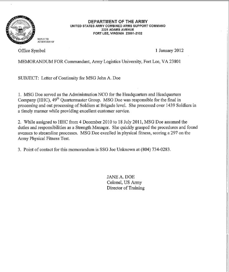 armymemorandumtemplate3301  memorandum template memo