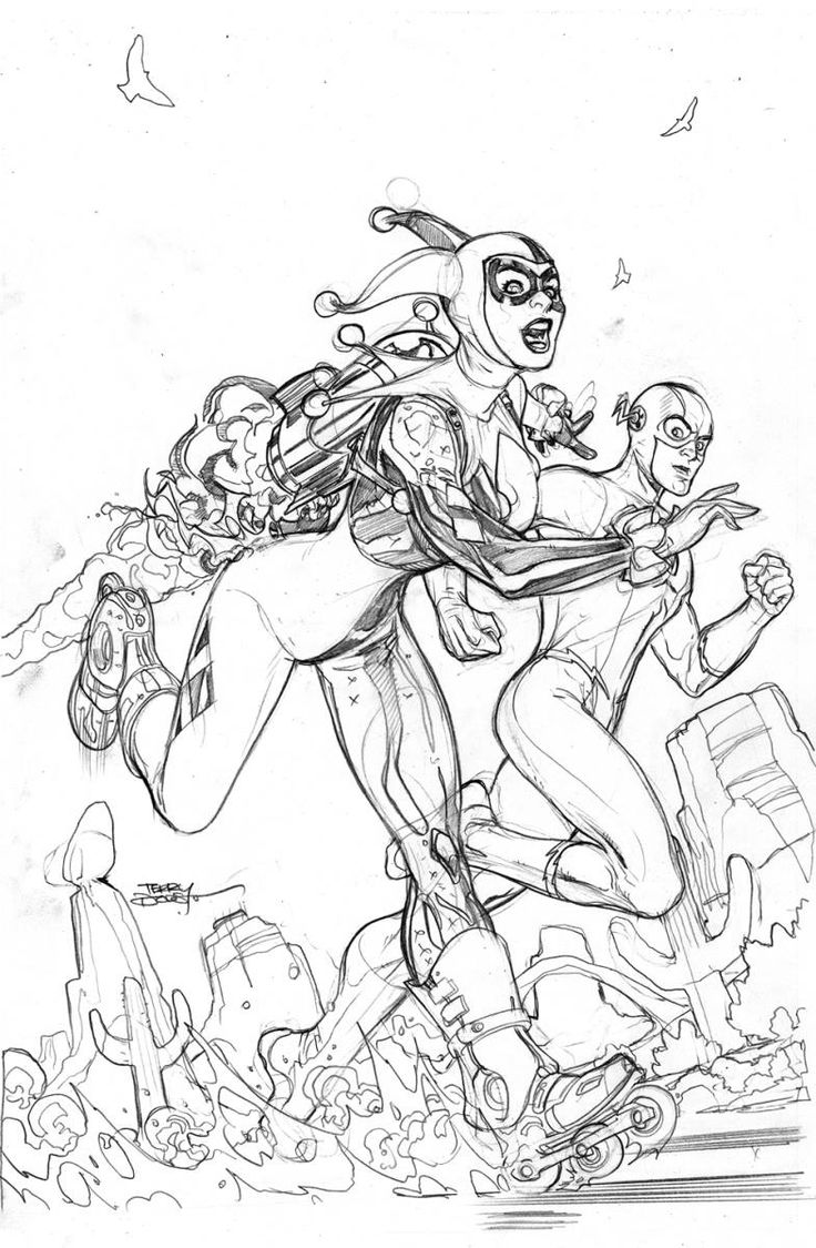 832 best images about black  u0026 white harley quinn on