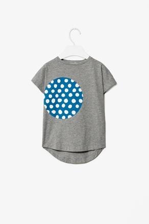 Polkadot patch t-shirt