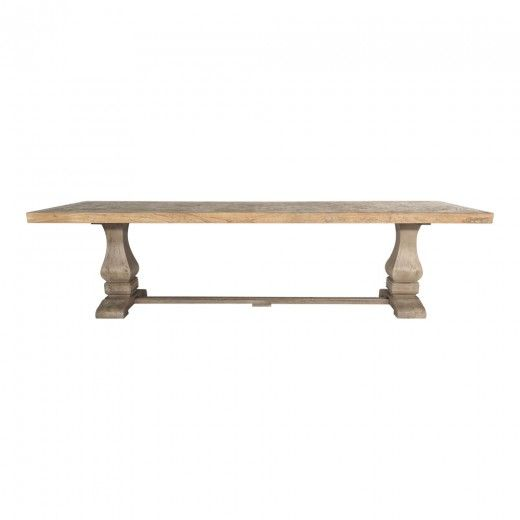 Chantilly Trestle Table Parquetry Top 3000 x 1000mm