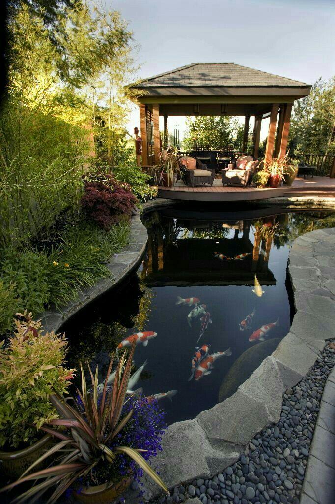 Kos Kosan Bobrok Garden Pond Design Koi Pond Design Fish Pond Gardens