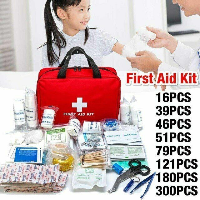 Household Multi Layer First Aid Kit Pouch Outdoor Car Bag 16 300 Pcs Lot Doesnotapply Essential First Aid Kit First Aid Kit Car Bag