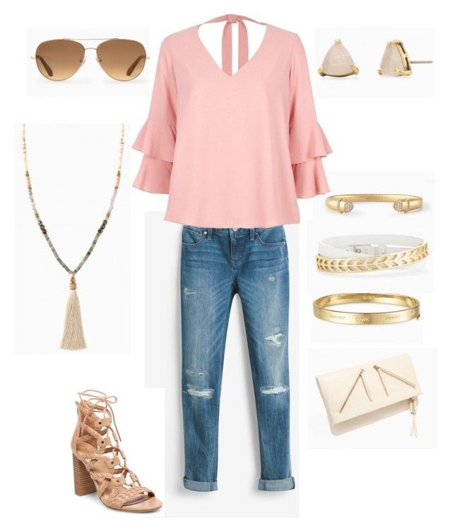 """Make Me Blush"" by meldafig on Polyvore featuring White House Black Market and River Island"