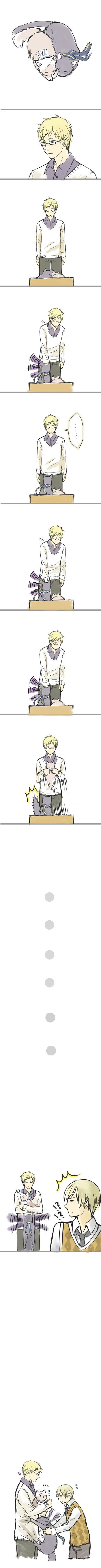 ...SwedeKitty being possessive of FinKitty.... Su-san should have known better.. lol >omg this is so cute!!: