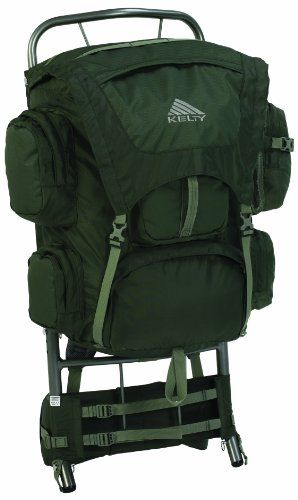 Cool! :)) Pin This & Follow Us! zCamping.com is your Camping Product Gallery ;) CLICK IMAGE TWICE for Pricing and Info :) SEE A LARGER SELECTION of External Frame Backpacks at http://zcamping.com/category/camping-categories/camping-backpacks/external-frame-backpacks/  #camping #backpacks #campinggear #campsupplies - Kelty Yukon External Frame Pack (Cypress, Medium/Large -16 – 21-Inch Torso) « zCamping.com