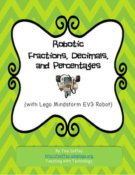 **Note: You MUST have access to EV3 robots and software to use this lesson!*Activity Includes:Teacher Information and Answer SheetIntro to EV3 PowerPoint with NotesStudent Recording SheetGrading RubricLego Mindstorm Project to Load on robots (includes the 4 programs needed for this activity)Lesson Summary:Using a LEGO MINDSTORMS EV3 robot and a touch sensor, each group of students inputs a fraction.