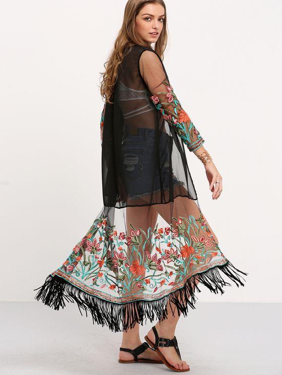 Kimono, Women's Fashion Kimono Online | MakeMeChic.COM