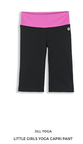 Little Girls Yoga Capri Pant www.jillyoga.com