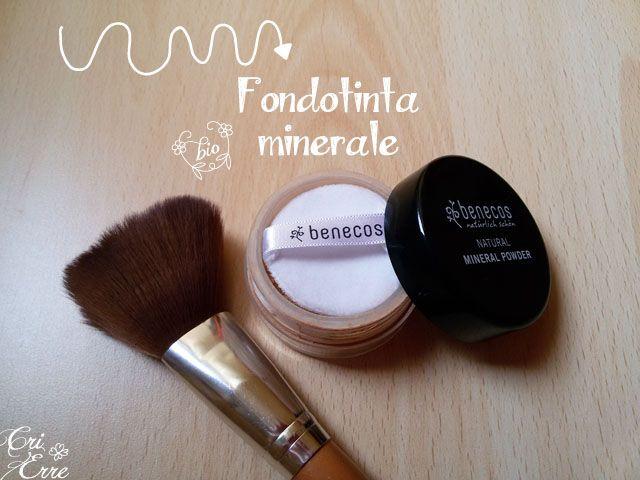 Natural Mineral Powder - Fondotinta minerale benecos make up bio