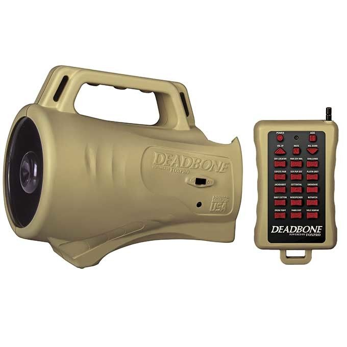 FOXPRO Deadbone with Remote Control and 15 Calls DB-1 - AllPredatorCalls.com