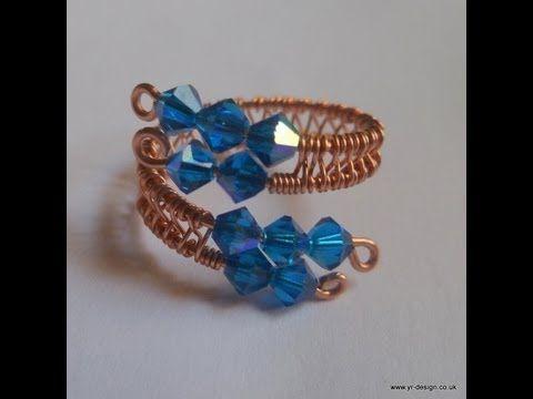 Eight Beautiful Wire-Weaving Jewelry Tutorials